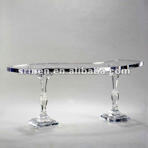 Clear Acrylic Dining Table Plexigl Bar Perspex Furniture Italian Pmma Product On