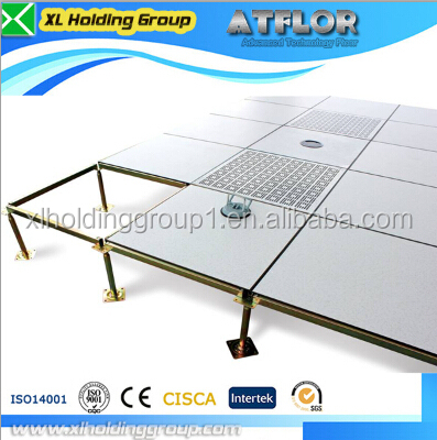 data center HPL 600*600*30 wood core raised access floor used in oa office oa raised flooring antistatic 1.2mm