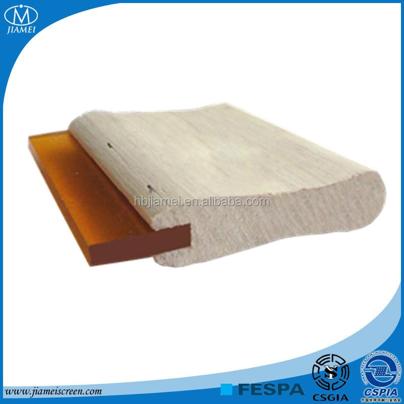 JIAMEI hot sale!!! product silk screen printing squeegee with wooden handle
