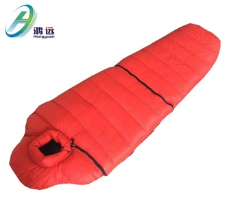 Wholesale sleeping bag camping winter sleeping bag
