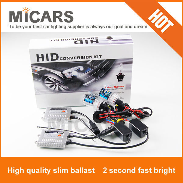 Rapide lumineux mince ballast hid phares