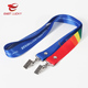Full Color Custom Sublimation Shoulder Strap Lanyards With Card Clip