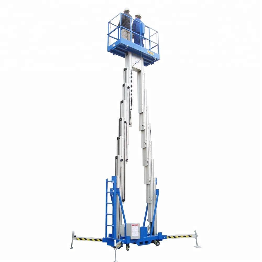 Aluminum Telescopic Lift /aerial Work Platform/electrical Ladder Lift - Buy  Aluminum Telescopic Lift /aerial Work Platform/electrical Ladder