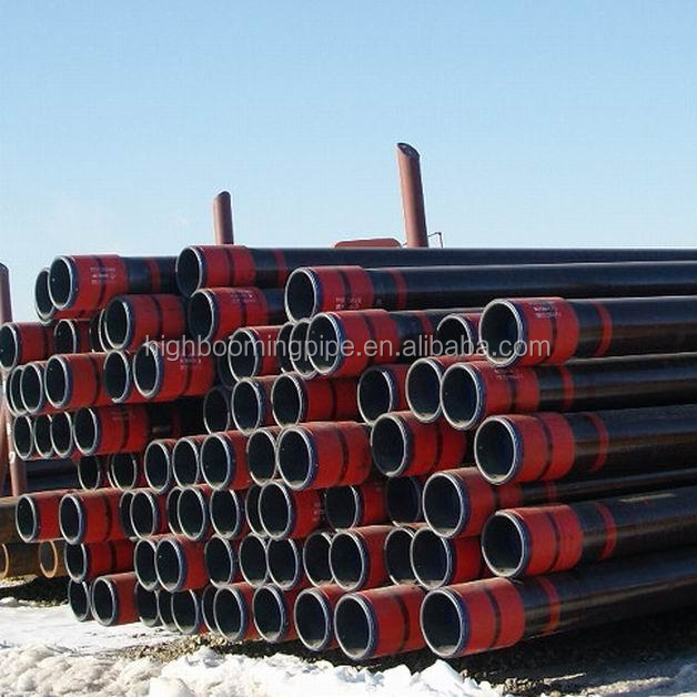 "crude oil transportation carbon material 9 5/8"" API 5ct OCTG steel casing pipe/ Oil /Gas using pipe"