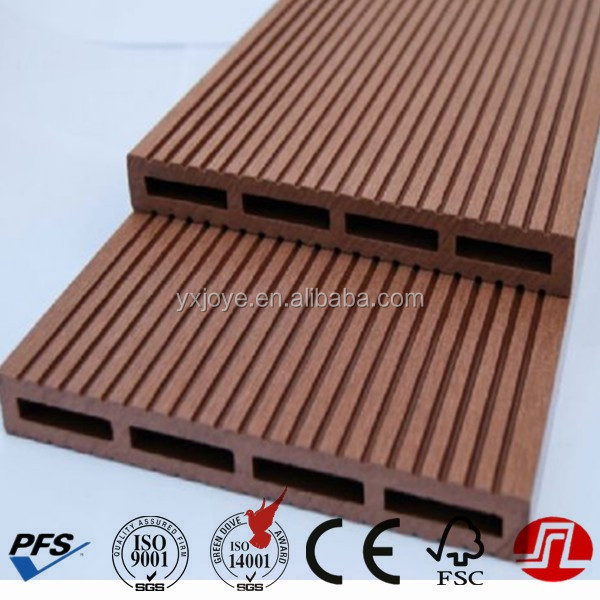Outdoor WPC wood plastic composite decking WPC wall panel