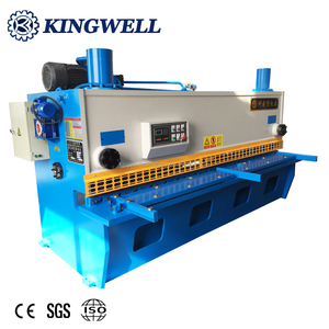 CE Hydraulic Manual Sheet Metal Guillotine Shearing Machine With Good Quality