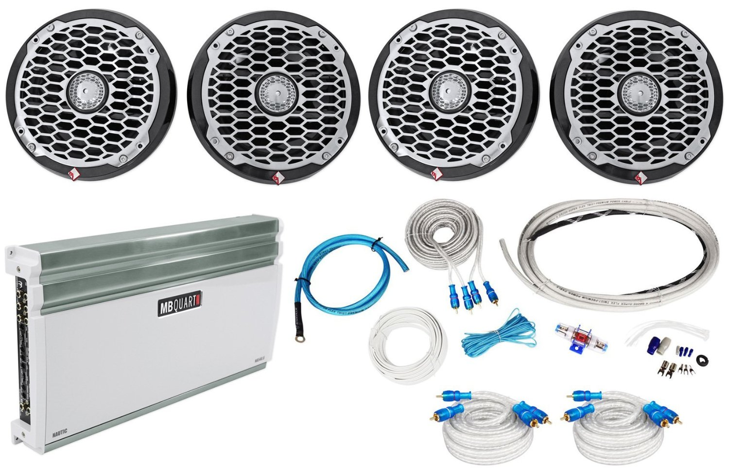 Cheap Marine Gauge Bezels Find Deals On Line At Rockford Fosgate Amp Wiring Kit Get Quotations Package 2 Pairs Of Pm2652b 65 Boat Component Speakers