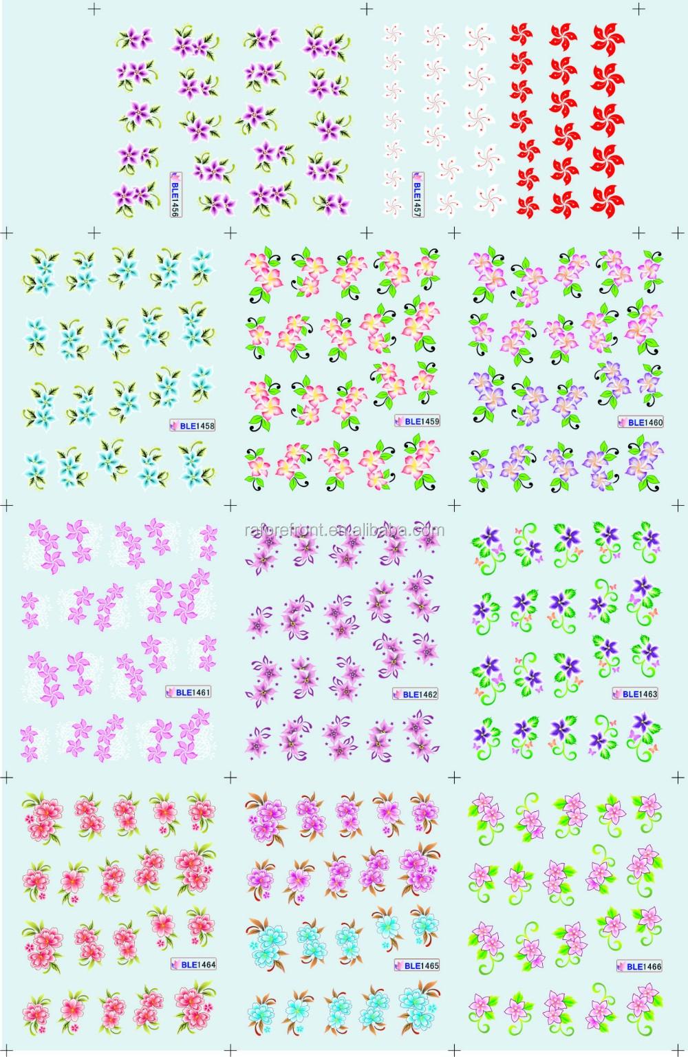 Personalizar suministros de uñas transferencia de agua nail art ...