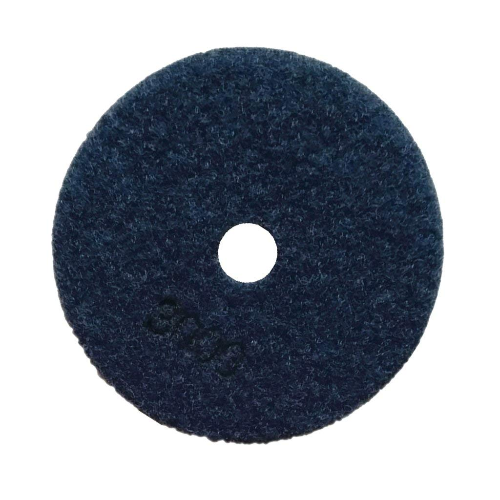 Jili Online Diamond Polishing Pads, 3inch, 4inch Wet,Dry Diamond Stone Polishing Pads Wheel Polisher Accessories/Disc Grit for Granite Marble Concrete Stone Buffing Polishing - 3000#, 3''
