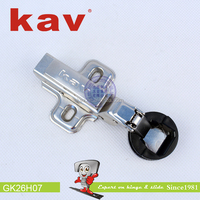 KG26H07 new style cabinet door hinges mirror hinge hardware glass 26mm cup super curve inset door hinge