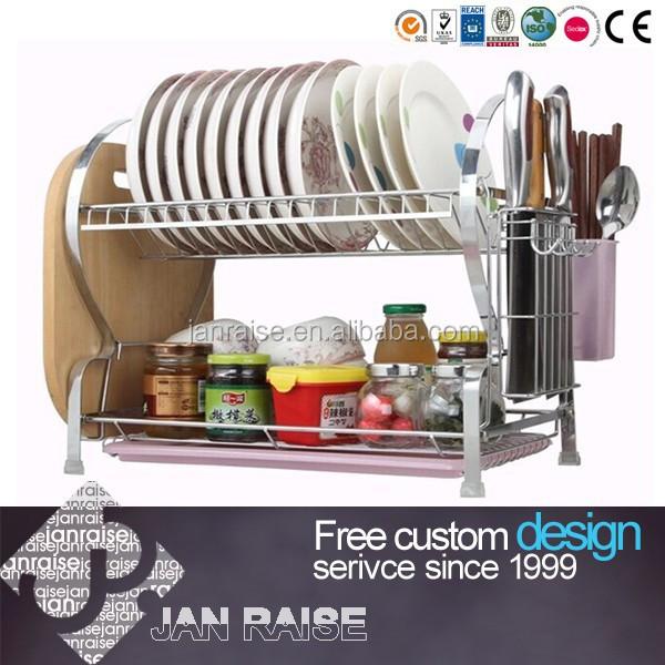 Muebles de cocina escurridor de platos cocina estante de for Soporte platos cocina
