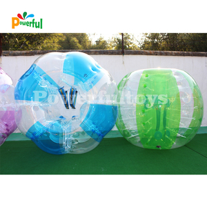 inflatable human body sized bubble soccer ball for football game