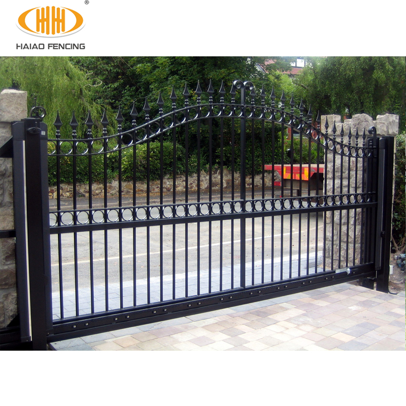 Best Ing Black Color Steel Main Gate Designs Iron For Homes In Stan