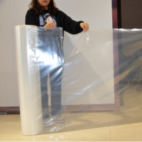 Big size PE material Super transparent plastic roll bags for packaging