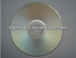 image relating to Printable Blank Cds titled Silver printable blank cds/cd-r/disc