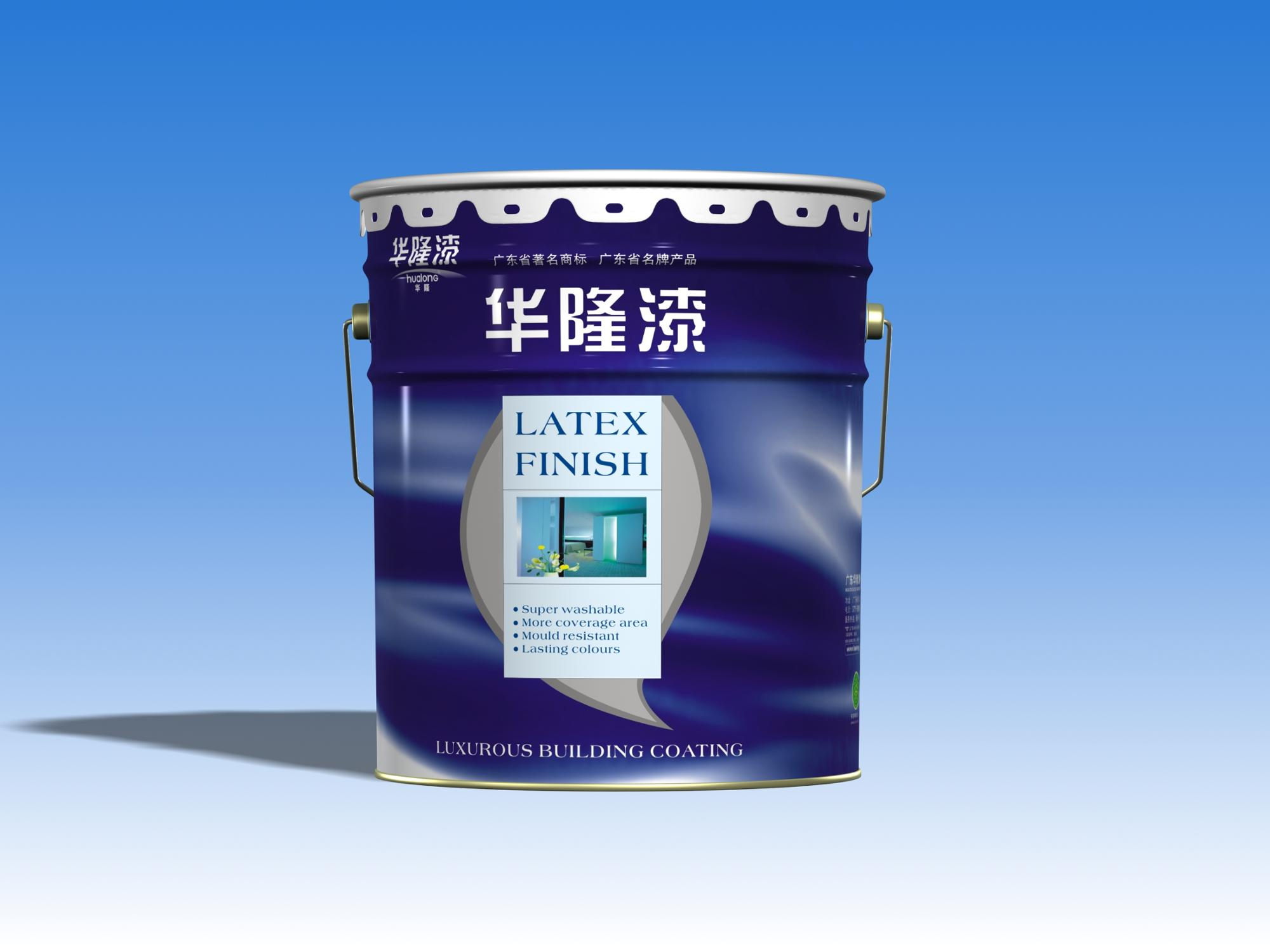 Hualong Dedicated Weather Resistance Exterior Wall Paint