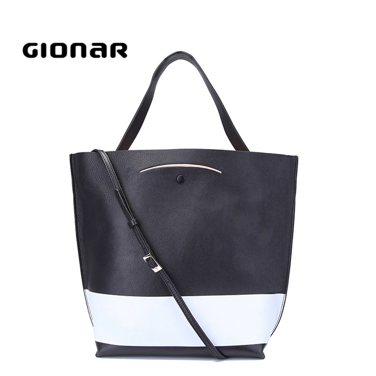 Comely Unique Design Young Girls Real Cowhide Leather Barrel Handbags