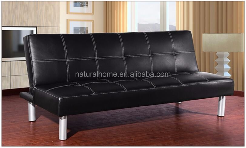 Synthetic PU Leather Material Sofa Cum Bed Specific Use Double sofa bed Living Room Furniture