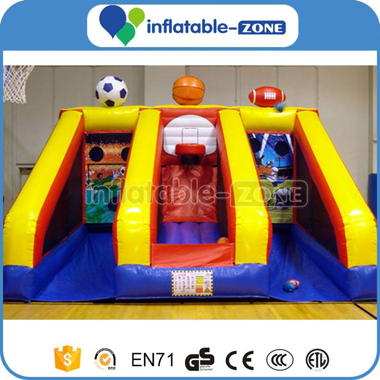 Mini basketball hoop for kids inflatbale basketball hoop game pvc shoot hoop