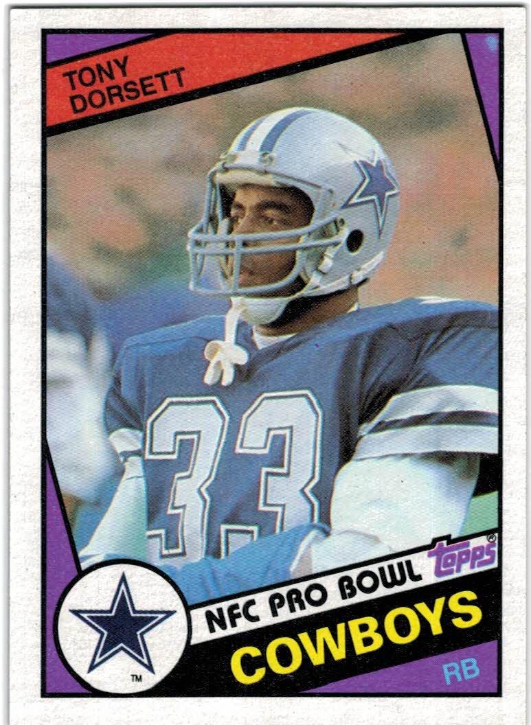 1984 Topps Dallas Cowboys Team Set with Tony Dorsett & Randy White