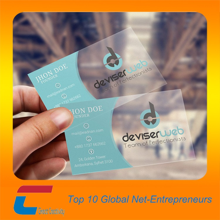 Thick Plastic Business Cards, Thick Plastic Business Cards ...
