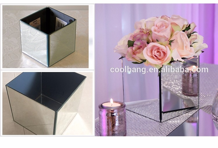 Chinese Wholesale Cheap Modern Wedding Decorative Square Mirror