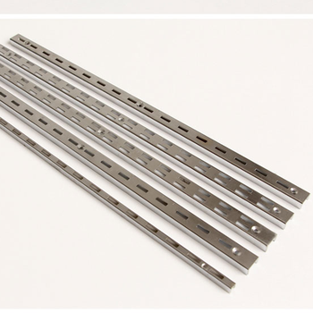 Shop Fitting Metal Chrome Plating C Channel Double Or Single Slot Upright  Post - Buy Chrome Plating C Channel,Single Slot Upright Post,Upright Post
