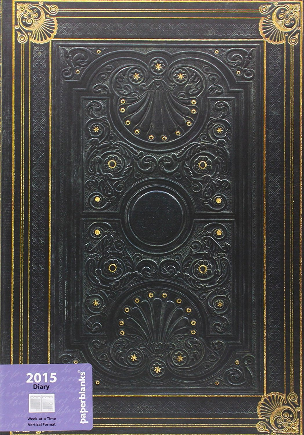 Nocturnelle - Paperblanks 2015 Weekly Planner (Grande 8.25 x 11.75 Vertical)