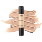 High Pigment Foundation Makeup Liquid Waterproof , Concealer Foundation