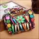 Fashion Drawstring Lady Cosmetic Bag Coconut Shell From Factory