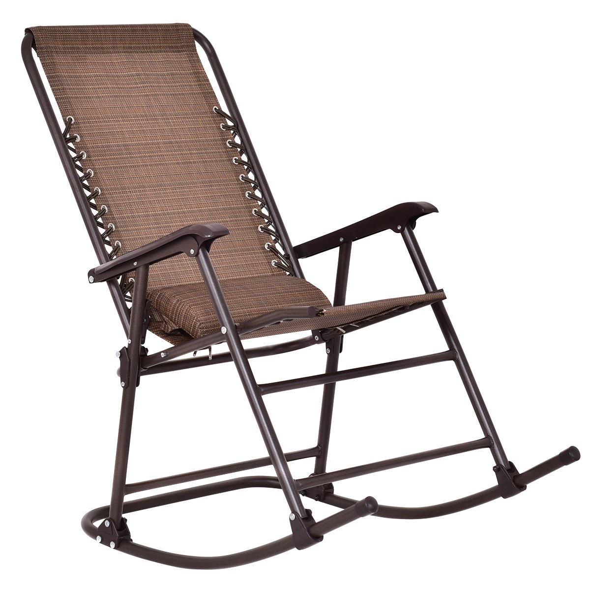 Beau Get Quotations · Goplus Folding Rocking Chair Rocker Porch Indoor Outdoor  Patio Furniture W/ Headrest