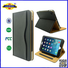 Tan Leather Smart Cover Case for iPad Mini , New Style Leather Case for iPad Mini