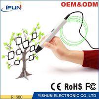 OEM ODM Digital logo printing machine 3d pen printer, 3d doodle pen, 3d printing pen