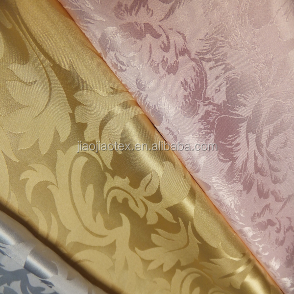 pure silk jacquard fabric/ brocade pure silk fabrics
