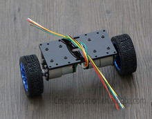 Hotselling 2WD smart self-balance robot car Chassis Kit 2WD large motor balanced car chassis