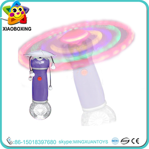 Fashion musical light toy/LED flash light toy/plastic rotary luminous round ball light up toys