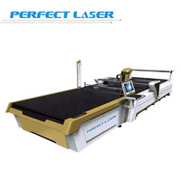 Straight Knife Industrial Cloth Cutting Machine / Cutter With optional Voltage Power