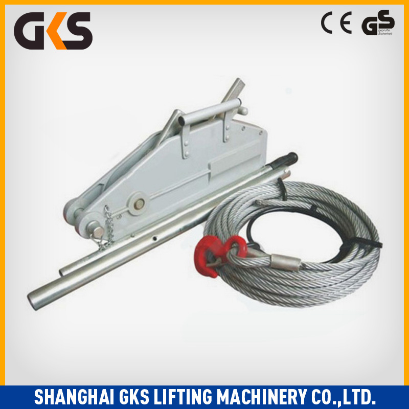 Manufacturer mechanical hand anchor winch with gearbox