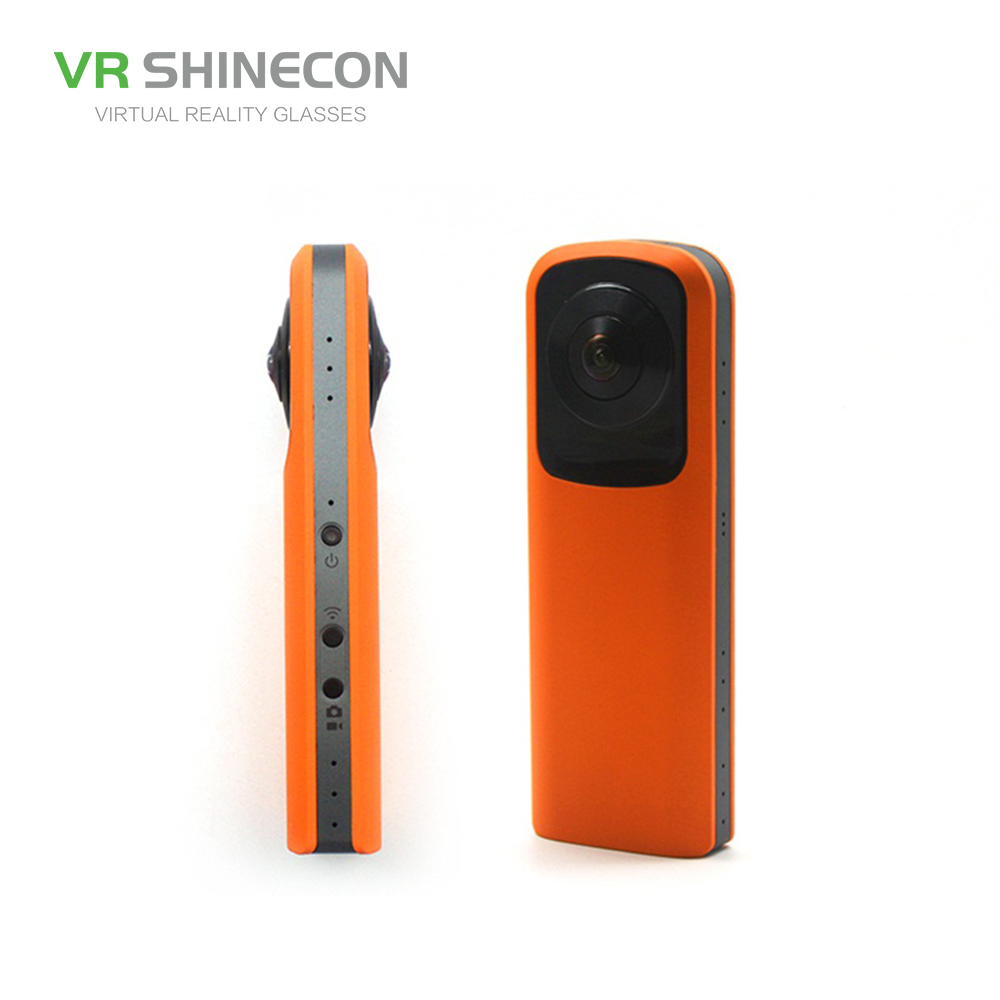 SHINECON 360 action camera orange panoramic vr camera CA-004 Hot sell
