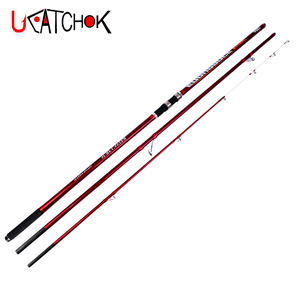 2019UCOK 4.2M 100-250g lure weight pure carbon fiber long casting carp rod beach far shot surf fishing rod