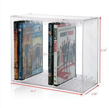 House Furniture Storing Dvd CD Bookshelf 14 Video Game Cases Holder