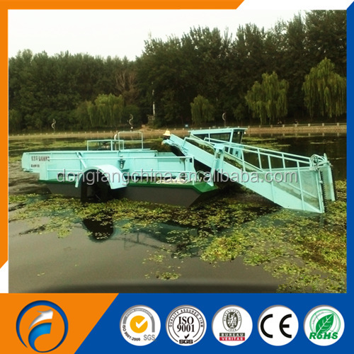 Qingzhou Dongfang GC-90 water weed harvester & aquatic weed harvester & lake weed harvester