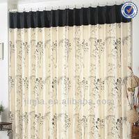 2016 New Fashion Small MOQ living room Elegant half window curtains