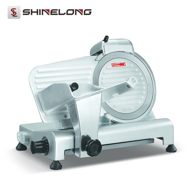 220mm Semi-automatic Frozen Meat Slice Cutter Machine for Sale F118-2