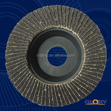 free sample granite polishing compound abrasive papers silicon oxide nylon abrasive flap disc 6""