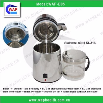 WAP-health Promotional high quality water distiller for dental office/ home use