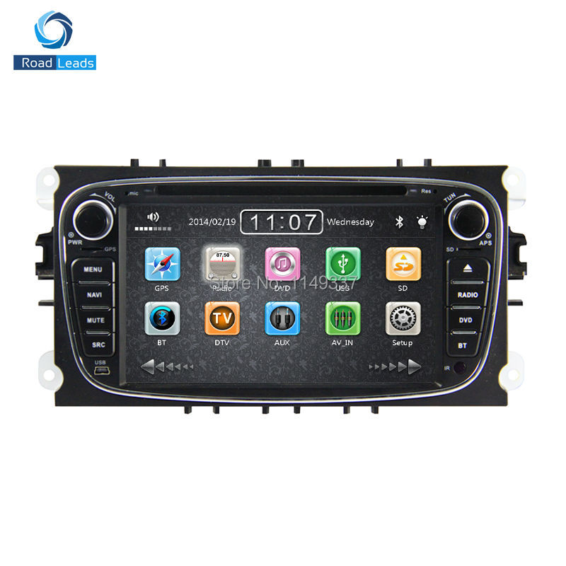 car stereo gps navigation for ford focus s max kuga mondeo radio rds dvd player multimedia. Black Bedroom Furniture Sets. Home Design Ideas