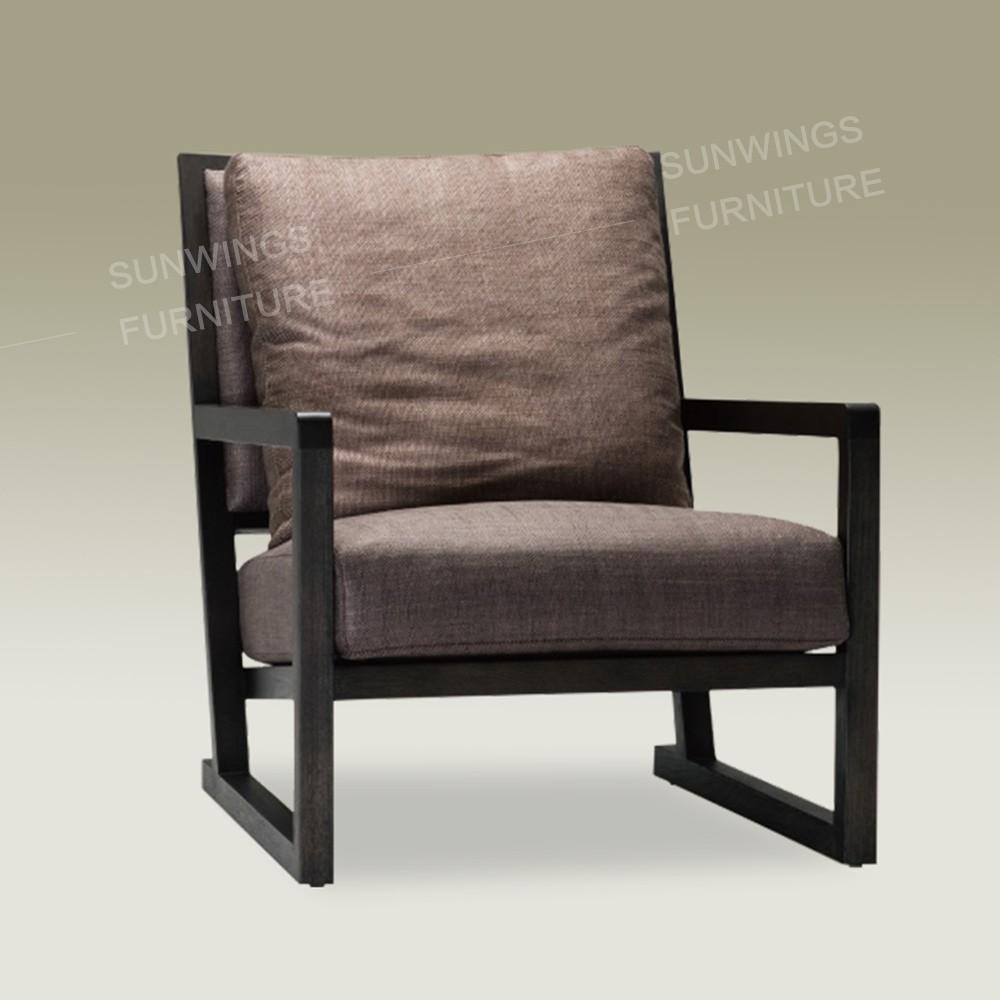Hot koop hout ontwerp moderne leisure arm stoelen recliner ...