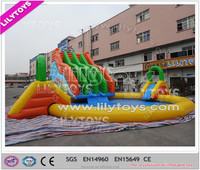 China New Design Giant Cheap Inflatable Water Slide Water Park for Sale