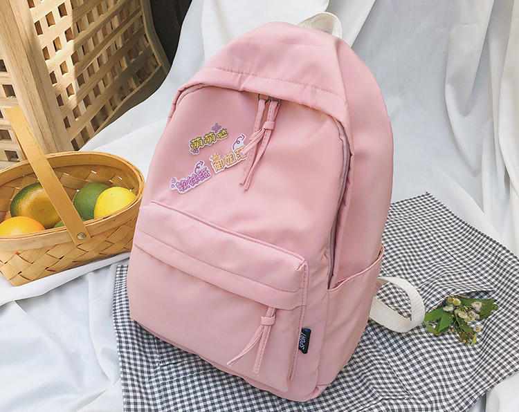 High school backpack college girls school bags for teenagers